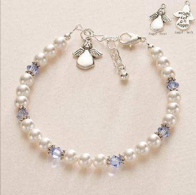 Made for an Angel Birthstone Bracelet | Someone Remembered